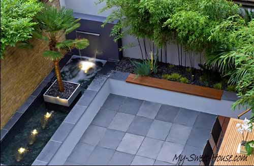 roof terrace design idea
