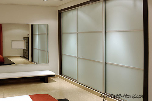 sliding wardrobe door frames