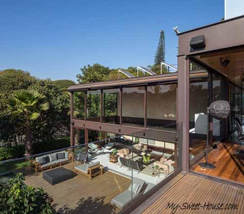 sunny terrace design