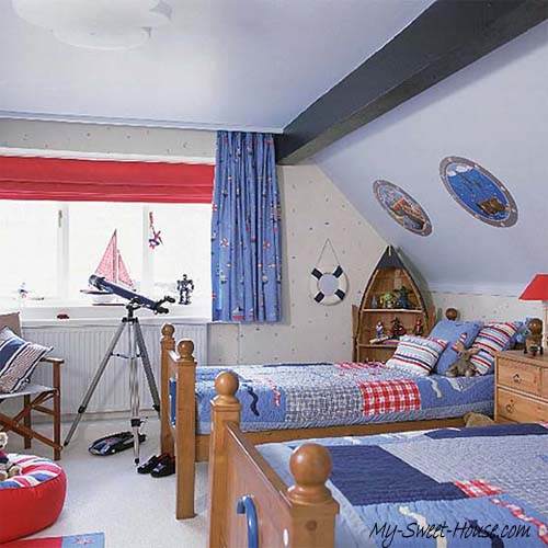 themed bedrooms for boys