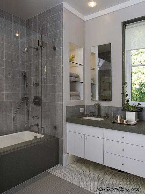 tile bathrooms decoration