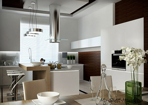unpredictable kitchen design idea