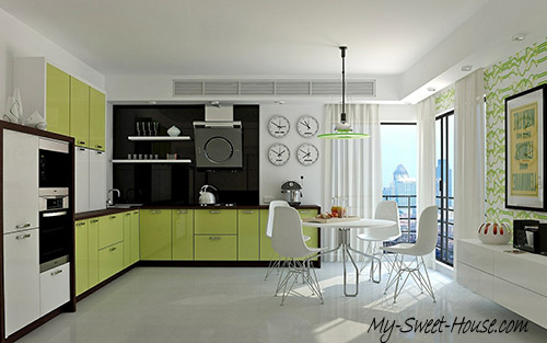 unpredictable kitchen design