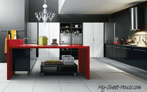 unpredictable kitchen ideas