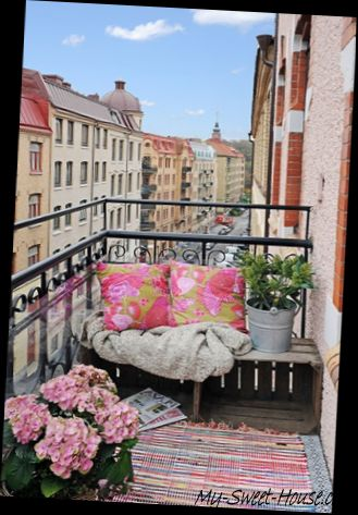 11 ideas and tips to decorate beautiful balconies my - How to decorate my home ...