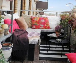 11 ideas and tips to decorate beautiful balconies