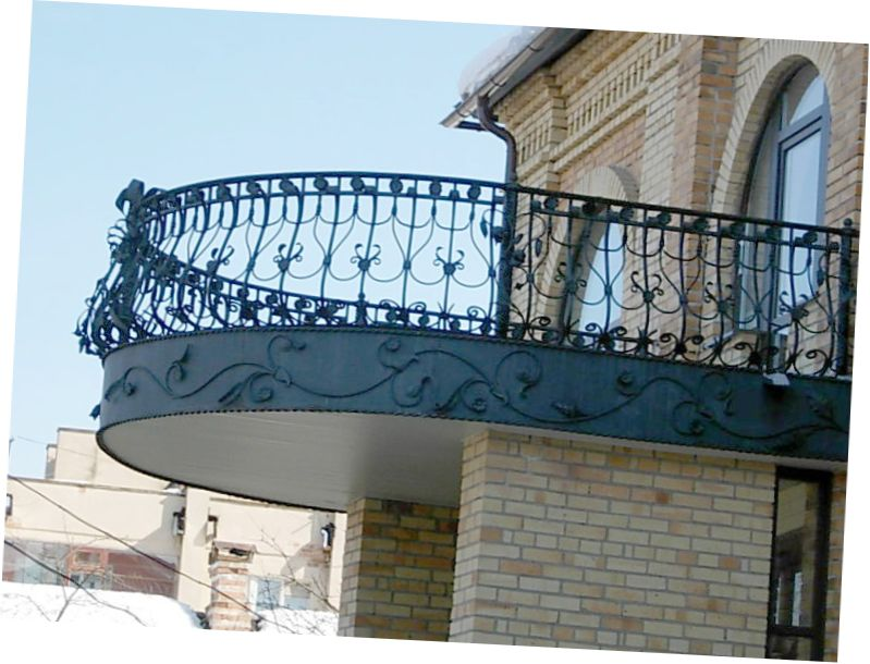 Beautiful ideas for balcony grill design my sweet house for Modern house grill design