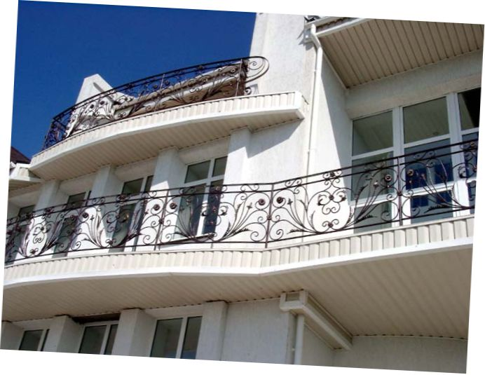 Iron grill balcony designs joy studio design gallery for Best house balcony design
