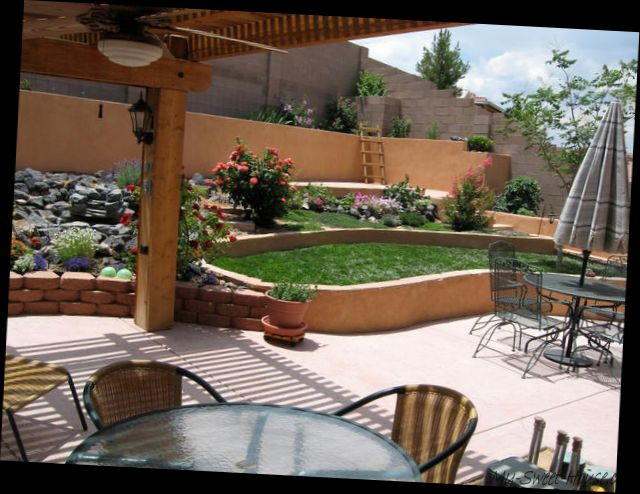 New ideas on traditional terrace garden design - My-Sweet ...