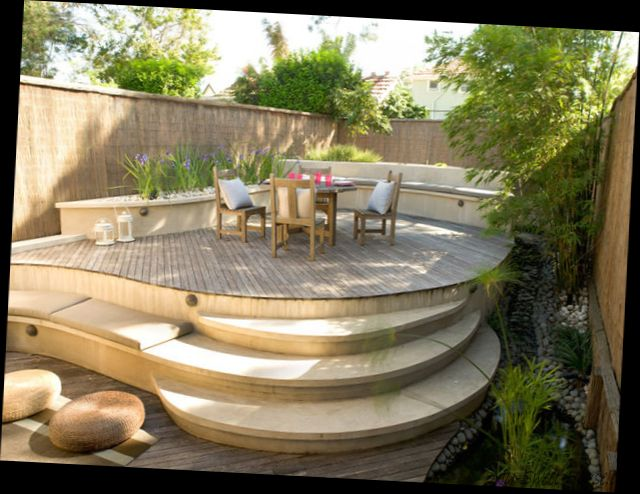 New ideas on traditional terrace garden design my sweet for Terrace garden design