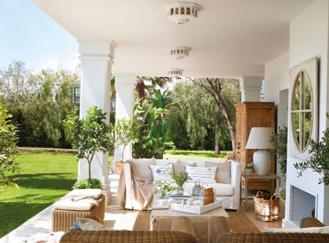 Veranda Design Idea from El Mueble