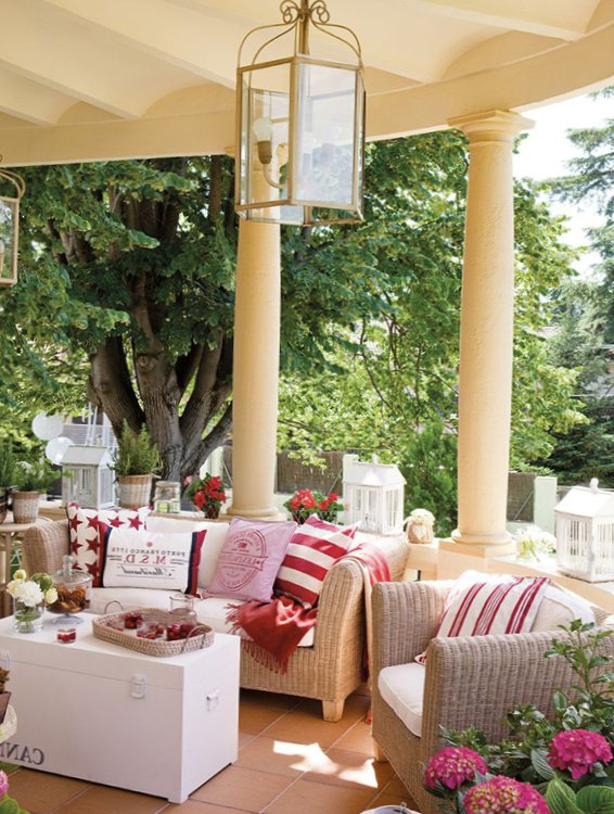 Inspirational Veranda design from El Mueble
