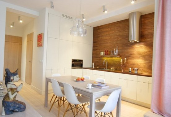Apartment with feminine charm in Warsaw-1