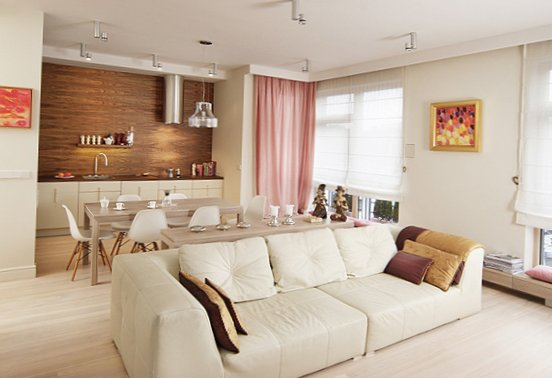Apartment with feminine charm in warsaw poland my sweet for Designer apartment krakow