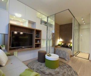 How to zone studio apartment into spaces