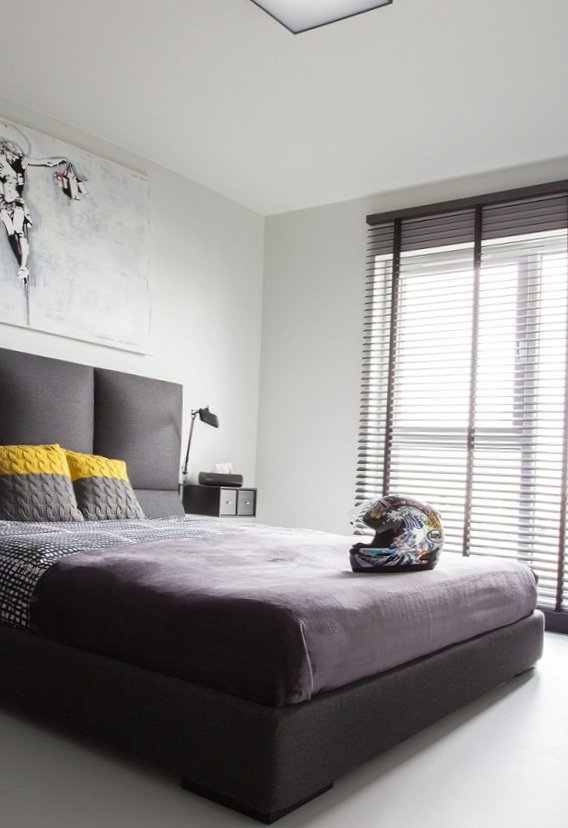 Black and white men's apartment-14