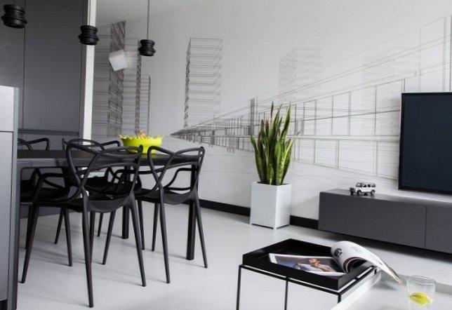Black and white men's apartment-4