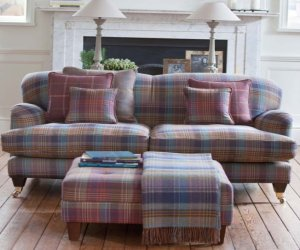 Scotish cashmere furniture