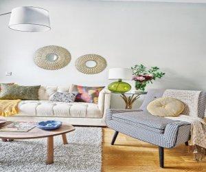 Cheerful Spanish interior design