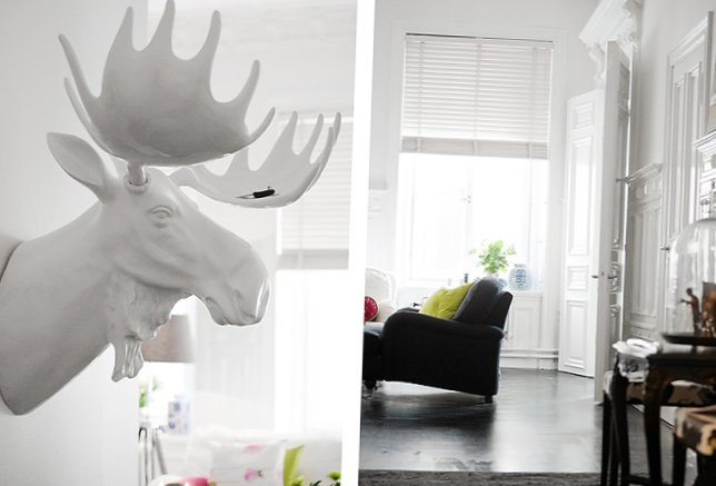 Conceptual interior of the apartment in Stockholm (70 square meters)-9