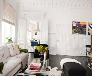 Conceptual interior of the apartment in Stockholm (70 square meters)-thumbnail