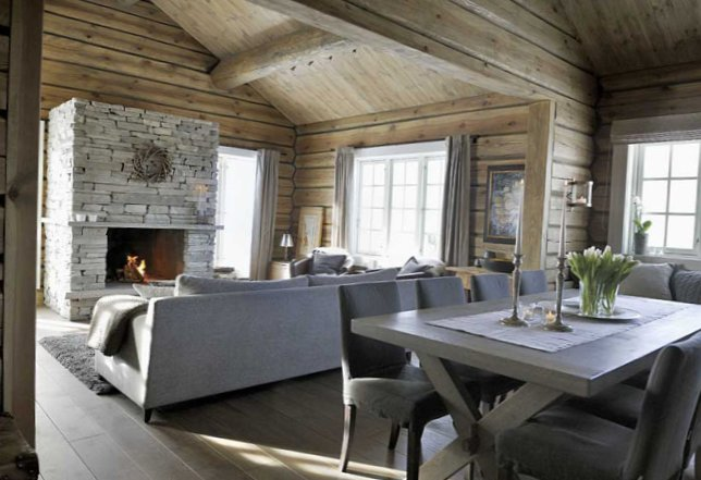 Cosy Chalet in the heart of winter Norway-3