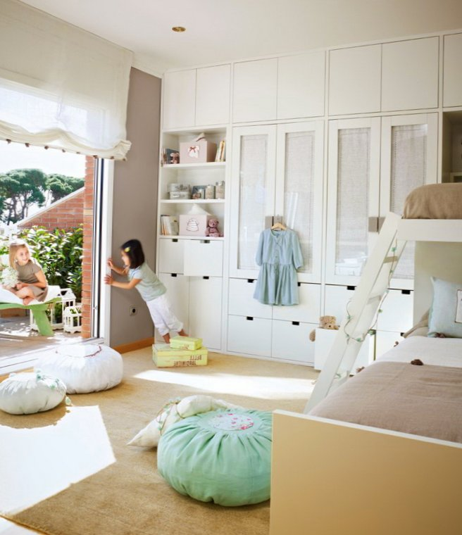Room For Two Shared Bedroom Ideas: Very Delicate Design Ideas Of Kids Room For 2 Girls