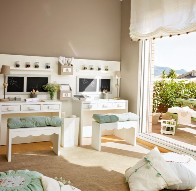 Delicate Ideas for 2 girls kids room  3
