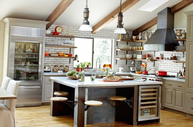 Excellent Modern Industrial Kitchen Ideas