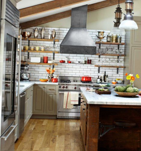 Excellent kitchen in the industrial style 2