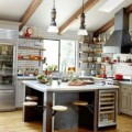 Excellent kitchen in the industrial style thumb