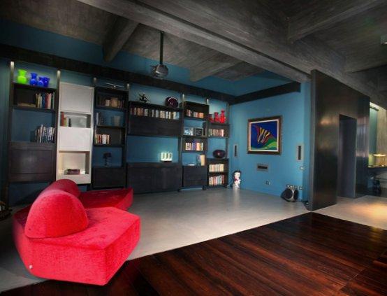 Extravagant loft in Italy-5