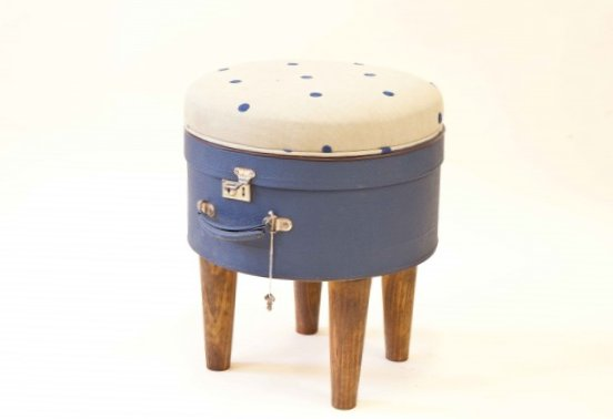 Furniture created from suitcases - Idea 14