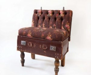 Amazing furniture designed and created from suitcases