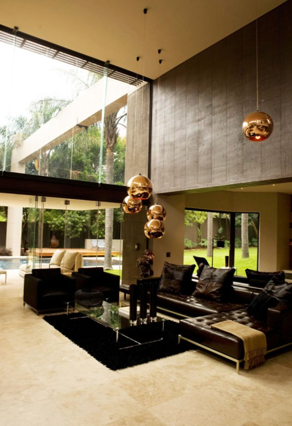 Gold as stylish element in the interior-12
