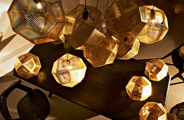 Gold as stylish element in the interior-6