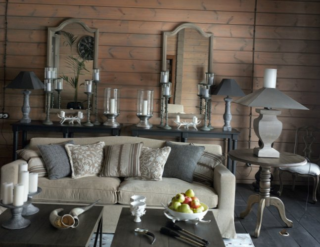 Great living room design in country house - 5