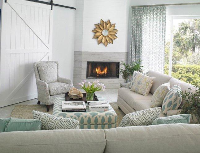 Interior designed in marine style  1
