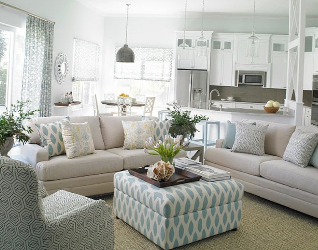 Interior designed in marine style  4