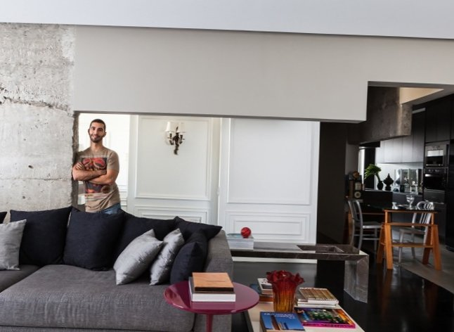 Mens stylish interior in Sao Paulo-1