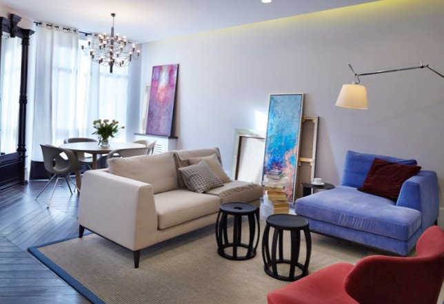 Modern apartment in the historical center of Kiev-1