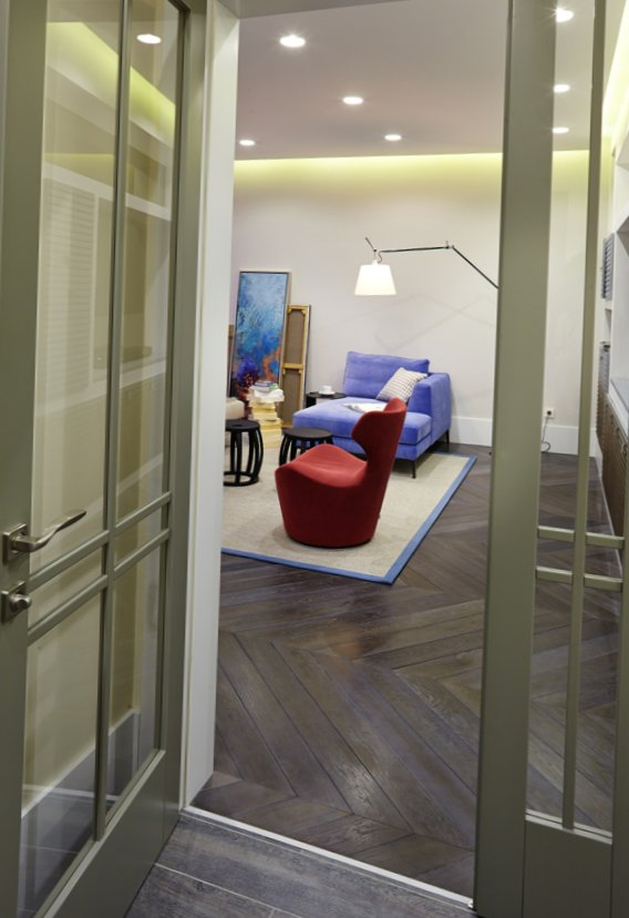 Modern apartment in the historical center of Kiev-11