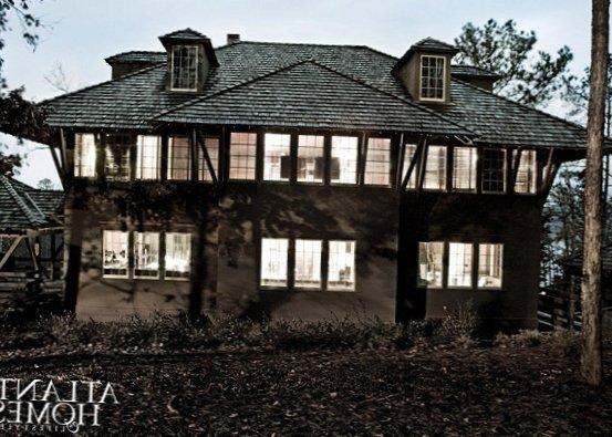 Mystery house near a lake-1