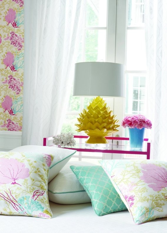 New collection of wall-paper from Thibaut-1