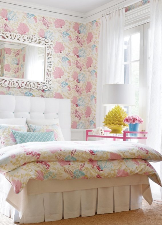 New collection of wall-paper from Thibaut-10