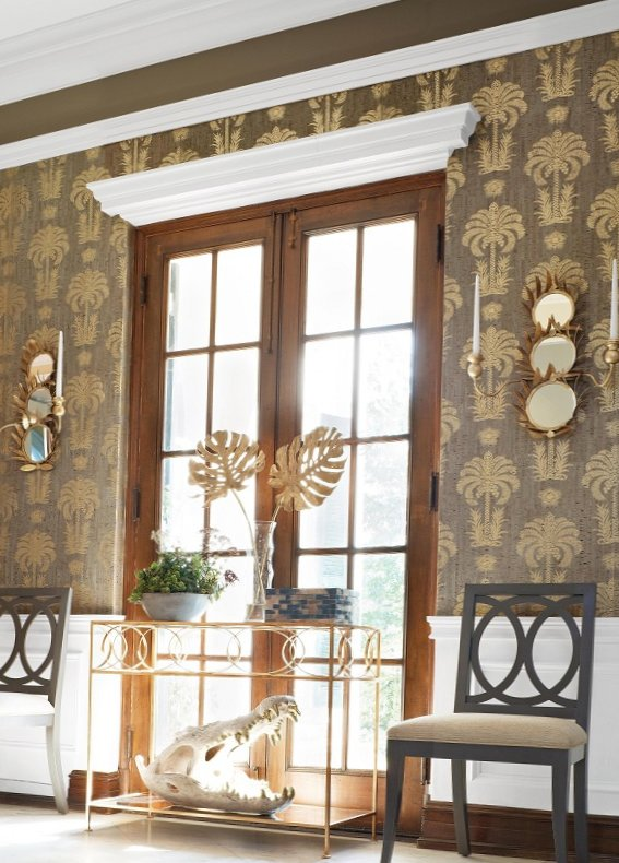 New collection of wall-paper from Thibaut-11