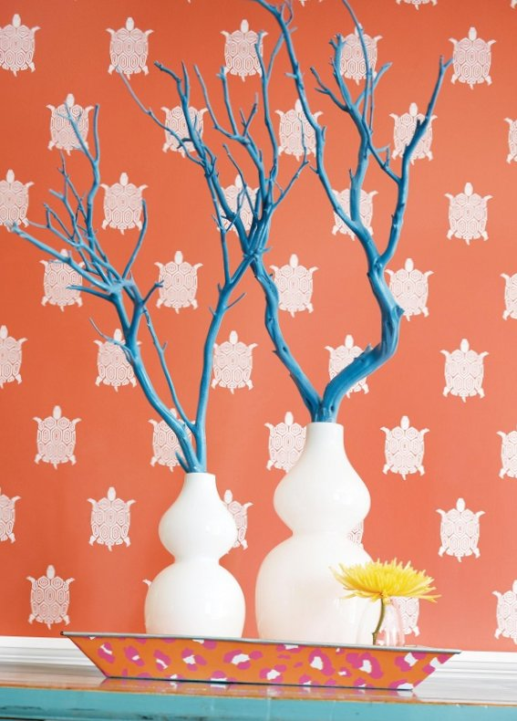 New collection of wall-paper from Thibaut-15