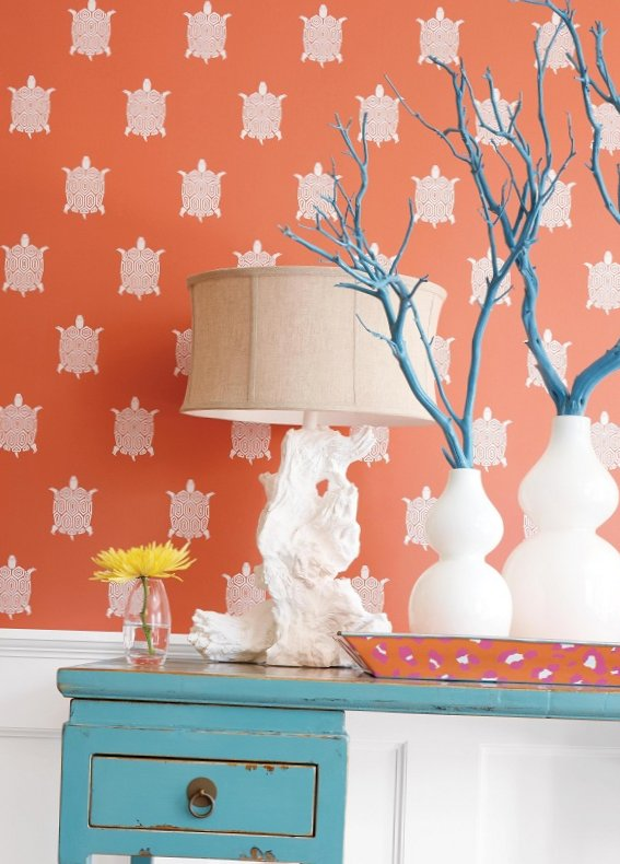 New collection of wall-paper from Thibaut-2