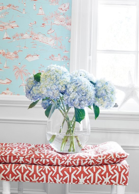 New collection of wall-paper from Thibaut-4