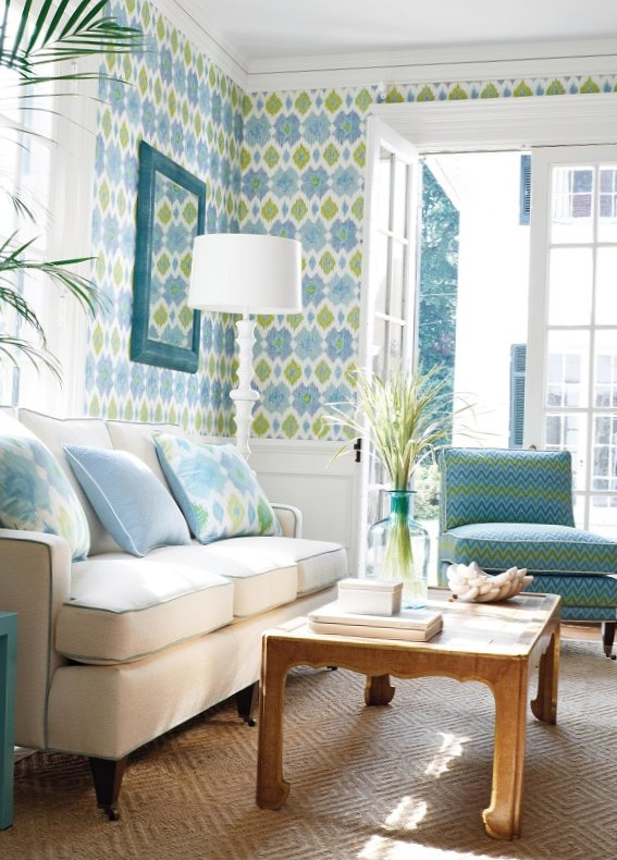 New collection of wall-paper from Thibaut-5
